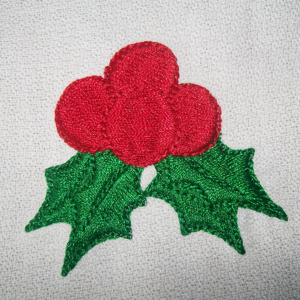 FREE CHRISTMAS HOLLY 4X4-free Christmas designs, free embroidery designs,