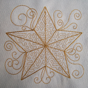 STIPPLE STAR 4x4-Christmas embroidery designs, one color embroidery designs, redwork embroidery designs,stipple embroidery designs, star embroidery designs,Christian embroidery designs