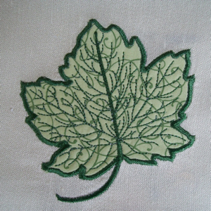 FALL LEAF APPLIQUE  4x4-applique embroidery designs for Fall and Autumn, leaf applique designs, realistic applique leaf designs, halloween designs, halloween applique designs, home decor applique designs, kitchen applique designs,