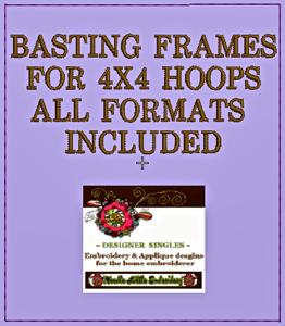 Free Basting Frame 4x4-free embroidery designs, free basting frame for all home embroidery machines
