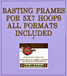 Free Basting Frame 5x7-free embroidery designs, free 5x7 basting frames for machine home embroidery
