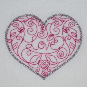 REDWORK HEART GIFT 4X4-free embroidery designs,free redwork embroidery designs, free rw embriodery designs, free sample embroidery designs, free heart embroidery design, free Valentine embroidery design