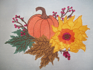 FALL SPLENDOR   5x7-fall home decor embroidery designs, Autumn embroidery designs, fall embroidery designs,pumpkin embroidery designs, leaf embroidery designs, holiday embroidery designs,pumpkin leaves sunflower embroidery designs