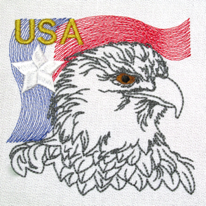 EAGLE USA FLAG 4X4-American eagle patriotic embroidery designs, 4th of July flag stars stripes embroidery design, realistic eagle American USA embroidery, patriotic embroidery designs