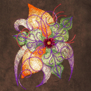 FALL FLOWER FANTASIA 5X7