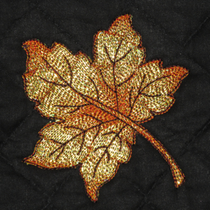 AUTUMN WINDS Mylar Mini Set 4x4-fall leaves autumn mylar embroidery designs, realistic leaves fall atumn