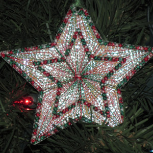 MYLAR STAR ORNAMENTS 4X4-star Christmas fsl mylar embroidery ornament, in the hoop mylar Christmas ornaments, 4th of July fsl star ornament embroidery, free standing star embroidery,New Years Eve embroidery designs, birthday celebration star embroidery, nursery star embroidery mobile fsl,