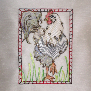 HIGH-STEP ROOSTER-rooster embroidery design, single rooster embroidery design,farm animal embroidery designs, kitchen embroidery designs, dining room embroidery designs, home decor embroidery designs,apron embroidery designs,foul embroidery designs, poultry embroidery designs, chicken embroidery designs