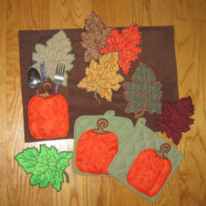 PUMPKIN POCKETS APPLIQUE' 5X7-pumpkin applique embroidery, fall ...