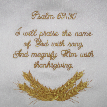 PSALM 69 V 30 THANKSGIVING