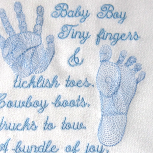 Embroidery backing for baby items - Uk Supplier - T-Shirt Forums