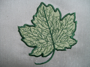 Applique Pattern – Leaves | How to Applique