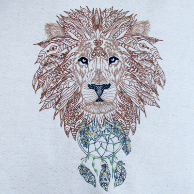 LION KING ZEN WILDLIFE 6x8-lion embroidery designs, urban embroidery designs, Zendoodle embroidery design, wildlife embroidery designs, masculine embroidery designs, teen embroidery designs, jungle embroidery design