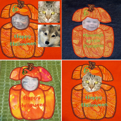 PUMPKIN PATCH KIDS AND PETS APPLIQUE-Halloween embroidery designs, Halloween applique designs, photo fabric embroidery designs, photo fabric embroidery designs, pumpkin embroidery applique designs, pumpkin peeker applique embroidery designs