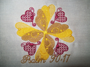 Psalm 90 4x4-Psalms embroidery designs, Christian embroidery designs, scripture embroidery designs, bible embroidery designs, spiritual embroidery designs, embroider the Psalms embroidery designs, religious embroidery designs, God's word embroidery designs,