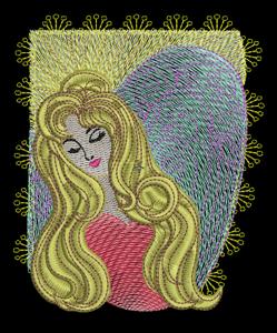 SERENITY ANGEL 5x7