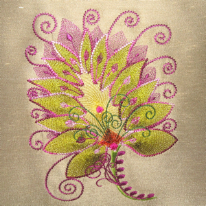 FANTASY FERN FLOWER 5X7