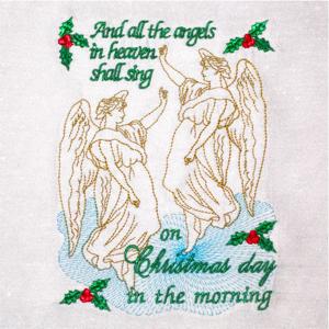ANGELS SHALL SING 5X7