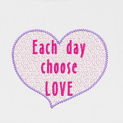 CHOOSE LOVE HEART