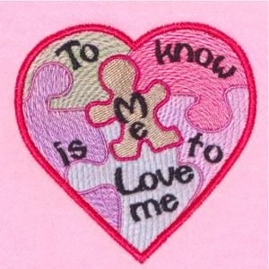 AUTISM LOVE HEARTS DUO 4X4