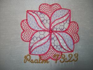 Psalm  73 v 23 4x4